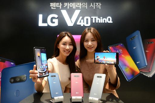 LG, 카메라 5개 'V40 씽큐'로 위기 뚫는다